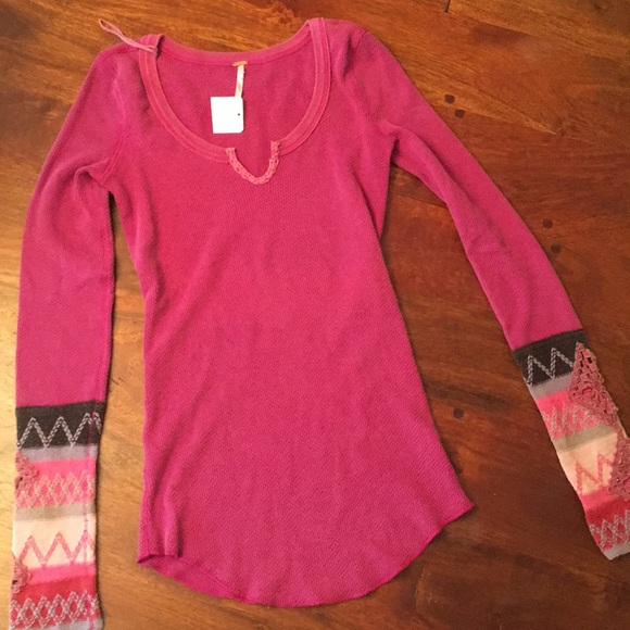 Free People Tops - Free People thermal top. Size Small.